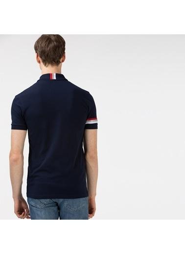 Lacoste Erkek Slim Fit Tişört PH0128.28L Lacivert